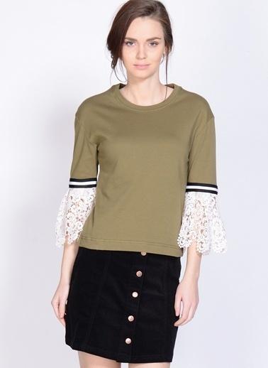 Dahliaa Bluz Yeşil
